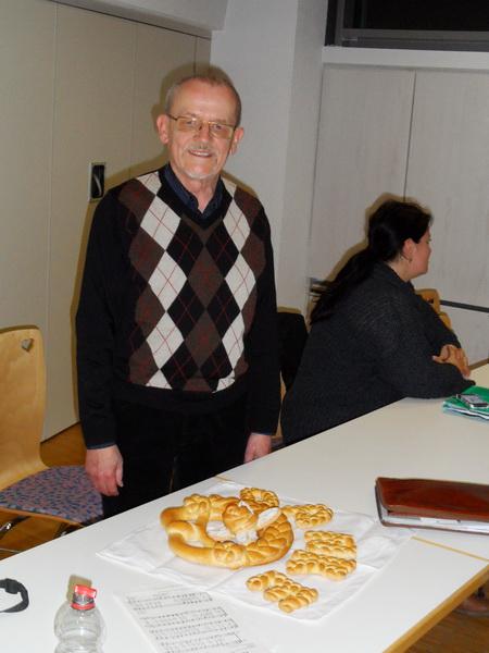 Dank an Jürgen Schaffner für seine Tätigkeit als Vorstand