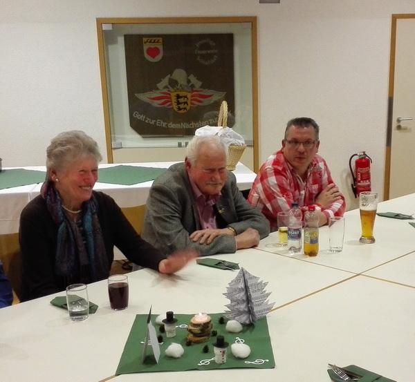 2017.01.22. (03) Liederkranz Familienfeier, Helene Waiblinger, Hans Maier und sein Sohn